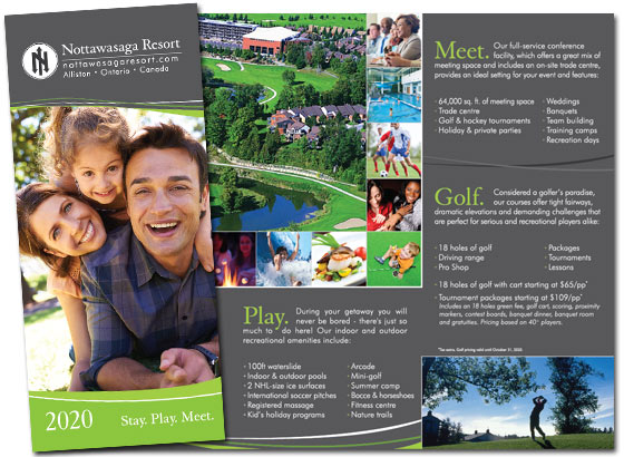 Summer Getaways Brochure