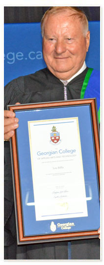 Georgian College Board of Governors Honorary Diploma