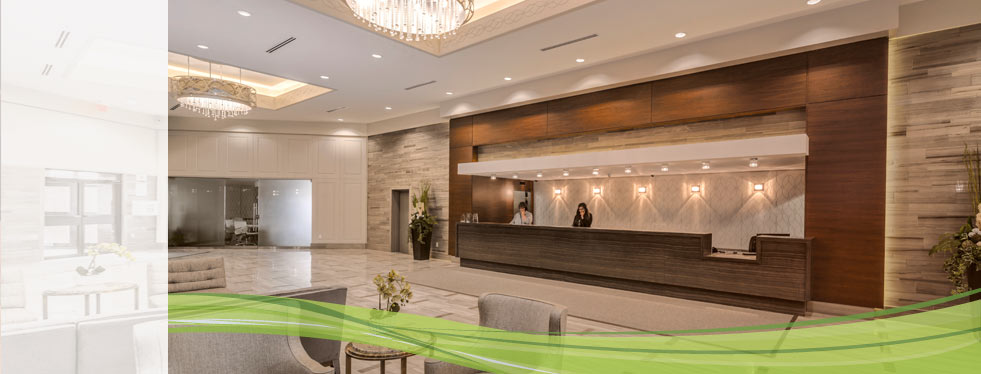 Newly Renovated Lobby