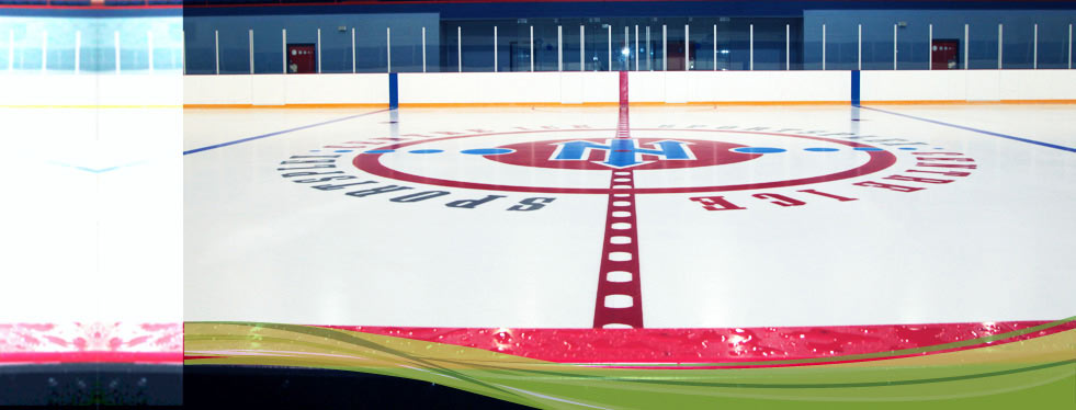 Centre ice logo